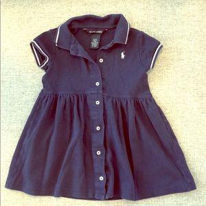 Ralph Lauren 3T Collared Summer Dress